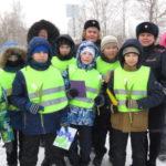 В акции участвовали ученики 4 класса школы № . Все фото: полиция Серова.