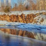 Сезон паводков в Свердловской области ждут не раньше апреля. Фото: архив газеты «Вечерний Краснотурьинск».