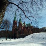 """Йоханнексенкиркко самый большой храм Финляндии по количеству сидячих мест. Фото: Екатерина Баязитова, """"Глобус"""""""