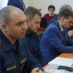 Представители областного МЧС