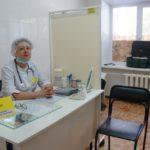 Фельдшер медицинского поста в пункте временного размещения