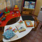 Детская комната в пункте временного размещения