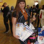 Дарья Коптенко стала победителем в своей весовой категории, заняла втрое место в абсолютном зачете и получила звание КМС. Фото: предоставлено Дарьей Коптенко.