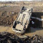 В ДТП вблизи села Романово пострадали водитель и пассажир ВАЗа. Фото: ГИБДД Серова.