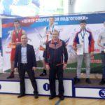 А Глеб Мамаджанов (в красном) завоевал второе место. Фото предоставлено ДЮСШ Серова.