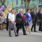"""Представители администрации, Думы и Северного округа. Фото: Мария Чекарова, """"Глобус""""."""