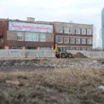 """Заместители министра строительства посетят главные стройки грода ,в том числе, строительство новой художественной школы. Фото: архив """"Глобуса""""."""