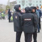 """За порядком на празднике следили сотрудники полиции. Фото: Мария Чекарова,""""Глобус""""."""