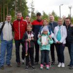 Победители летней Спартакиады Серовской ГРЭС - команда электрического цеха. Фото предоставлено Ириной Ковязиной.