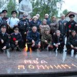 21 июня в 22 часа присоединились к Общероссийской социальной акции «Завтра была война», приуроченной ко Дню памяти и скорби. Фото: полиция Серова.