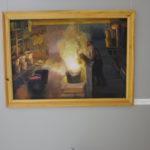 """На выставке представлены работы Л. М. Касаткиной, работника плавильного цеха. Фото: Мария Чекарова, """"Глобус""""."""