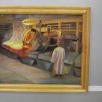 """Людмила Касаткина с детства любила живопись, но родители хотели, чтобы девушка работала на производстве. Фото: Мария Чекарова, """"Глобус""""."""