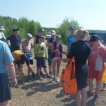 Урок безопасности проходит ежегодно на Киселевском водохранилище. Фото: предоставлено Петром Ивановым.