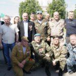 Ветераны боевых действий из Серова. Фото предоставлено Оксаной Калугиной.