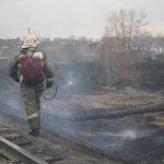 """Пожар произошел в мае 2018 года. Фото: Константин Бобылев, """"Глобус""""."""