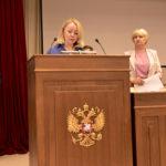 Елена Александрова приняла присягу 29 июня. Фото: предоставлено пресс-службой Свердловского областного суда.