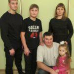 Семья Пшикаловых сегодня. Фото предоставлено полицией Серова.
