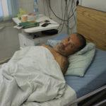 """Сейчас Евгений Мацнев находится в палате интенсивной терапии. Фото: Мария Чекарова, """"Глобус""""."""